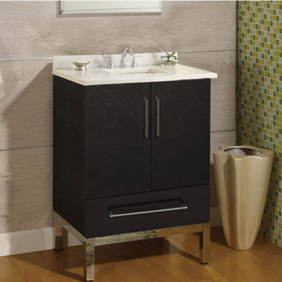 "Empire Daytona 24"" Vanity for 2522 Stone Countertops with 2 Doors & 1 Drawer"