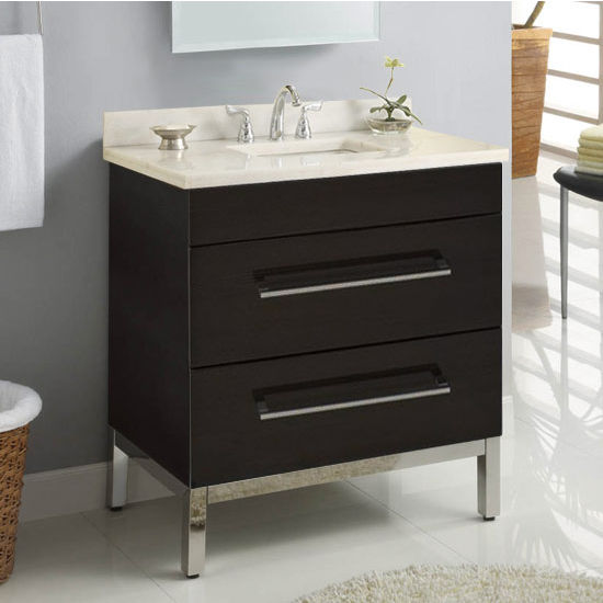 "Empire Daytona 30"" Vanity for 3122 Stone Countertops with 2 Drawers"