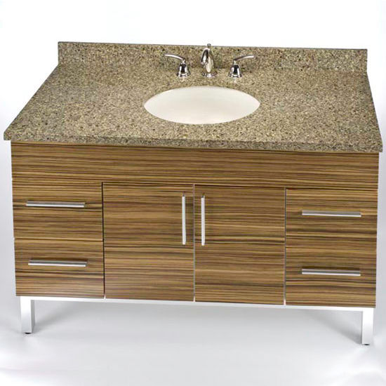 "Empire Daytona 48"" Vanity for 4922 Stone Countertops with 2 Doors & 4 Drawers"