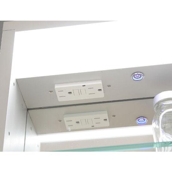 Hollywood Lighted Amp Recessed Medicine Cabinet W Interior
