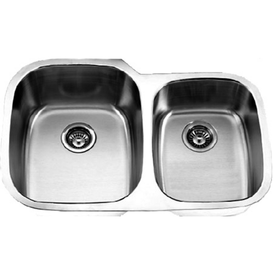 Empire S-6 Undermount Double Bowl Stainless Steel Sink