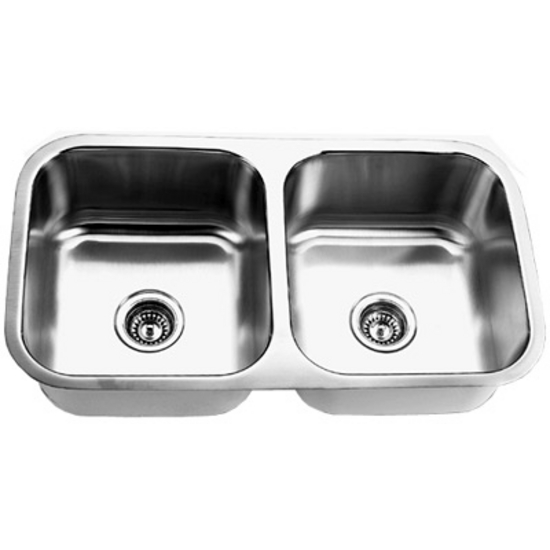 Empire SP 9 Undermount Double Bowl Sink