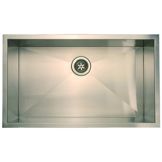 "Empire Everest Single Bowl Undermount Sink 32"" W"