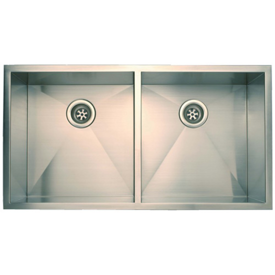 "Empire Everest Double Bowl Undermount Sink 37"" W"