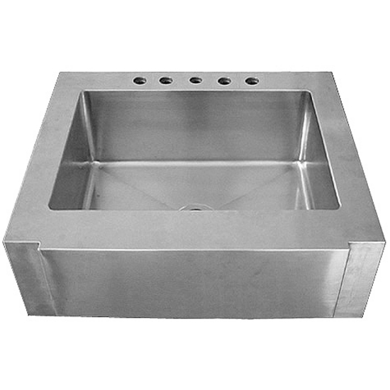 "Empire Everest Single Bowl Farm Sink 30"" W"