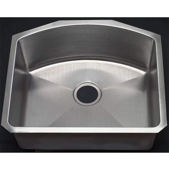 Kitchen Sinks Single Bowl D Shape Kitchen Sink By