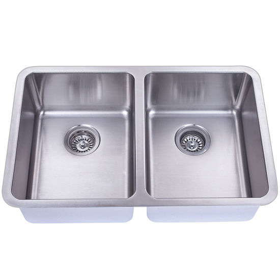 Empire Atlas Stainless Steel Undermount Double Bowl Kitchen Sink