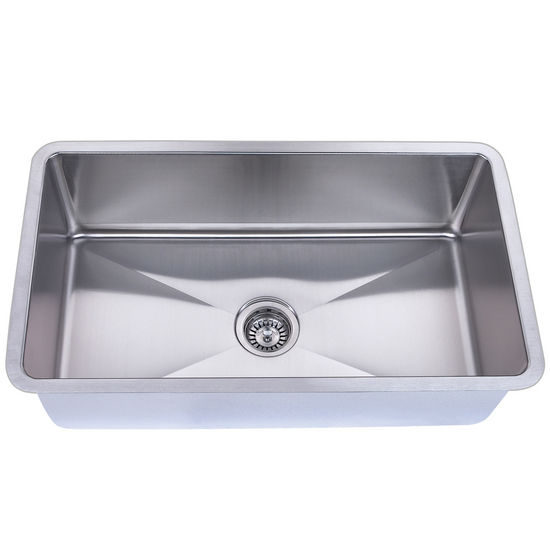 Empire Atlas Stainless Steel Undermount Single Bowl Kitchen Sink