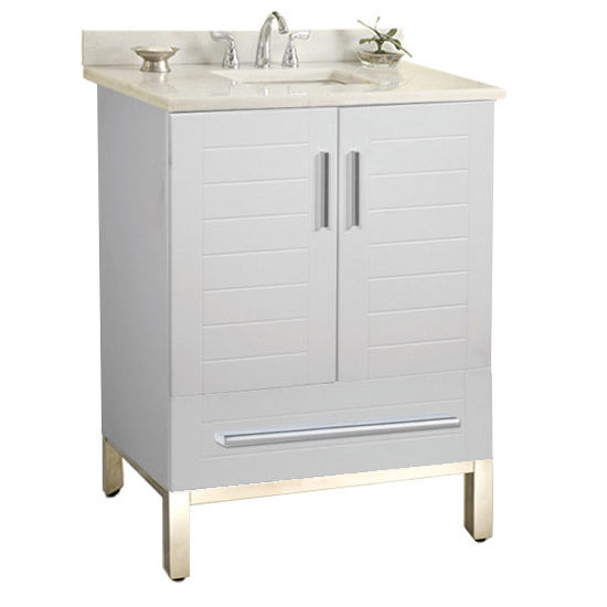 "Empire Metropolitan 24"" Vanity for 2522 Stone Countertops with 2 Doors & 1 Drawer"