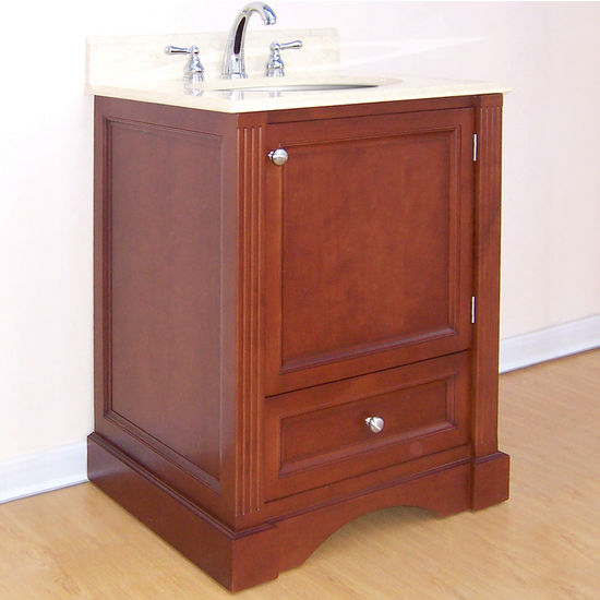 "Empire Newport Collection Cinnamon Bathroom Vanity 24""W"