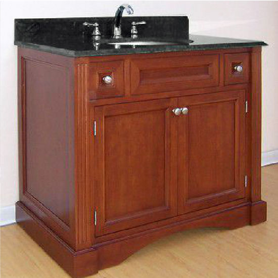 "Empire Newport Collection Cinnamon Bathroom Vanity 36"" W"