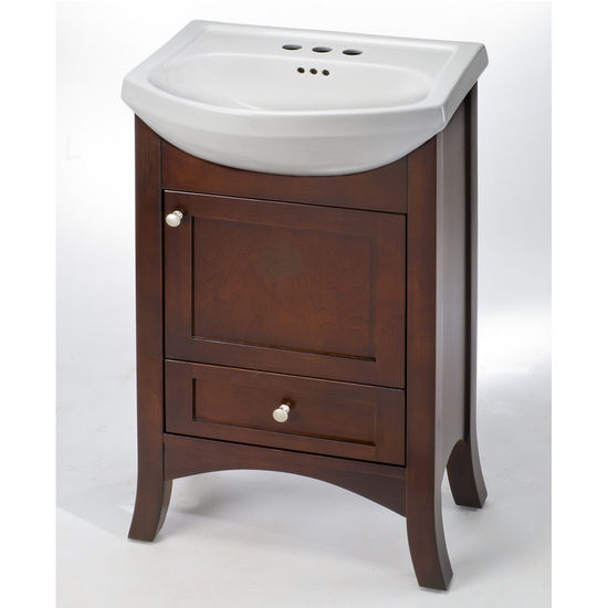 bathroom vanities - 20'' petite empress petite empress vanity - wood 20 Bathroom Vanity