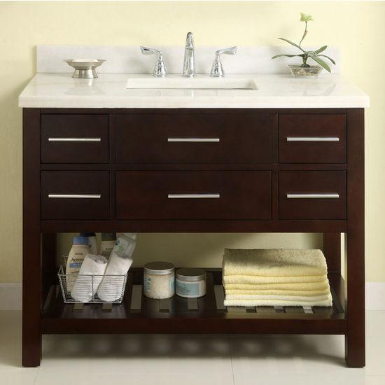 bathroom design wonderful uba tuba granite for kitchen or.htm bathroom vanities 48   priva collection vanity in dark cherry  bathroom vanities 48   priva