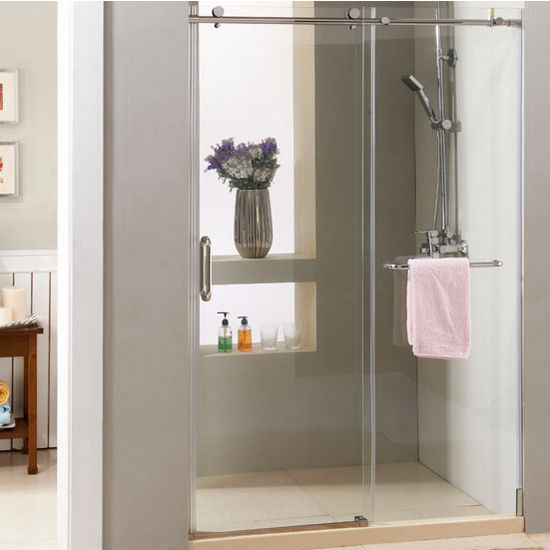 Supreme 10mm 38 Thick Clear Tempered Glass Frameless Shower