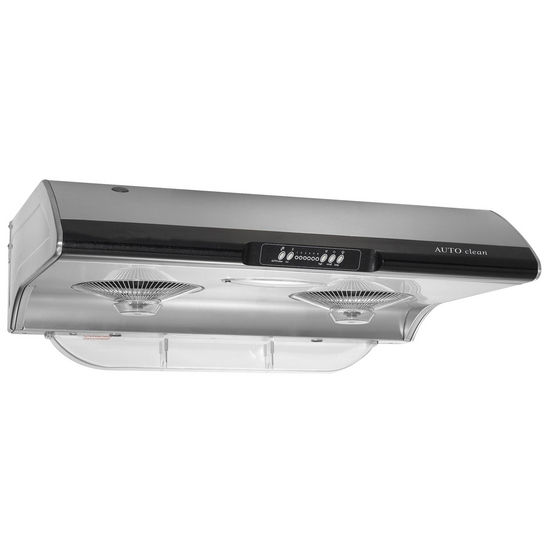 Empire Tornado 6 Speed Auto-Clean Stainless Steel Range Hood