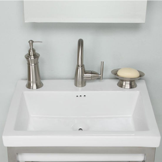 Tribeca Ceramic Sink In White