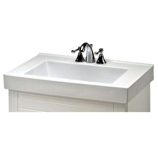 Villa Ceramic Sink In White