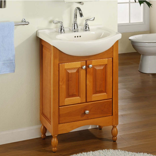 "Empire Windsor 22"" Light Cherry Bathroom Vanity"