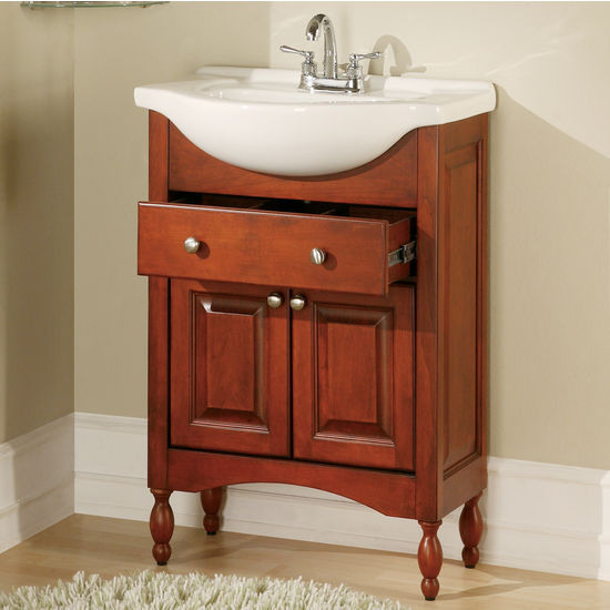 "Empire Windsor 26"" Cognac Bathroom Vanity"