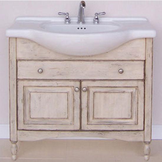 Empire Windsor 38 Bathroom Vanity In Antique White