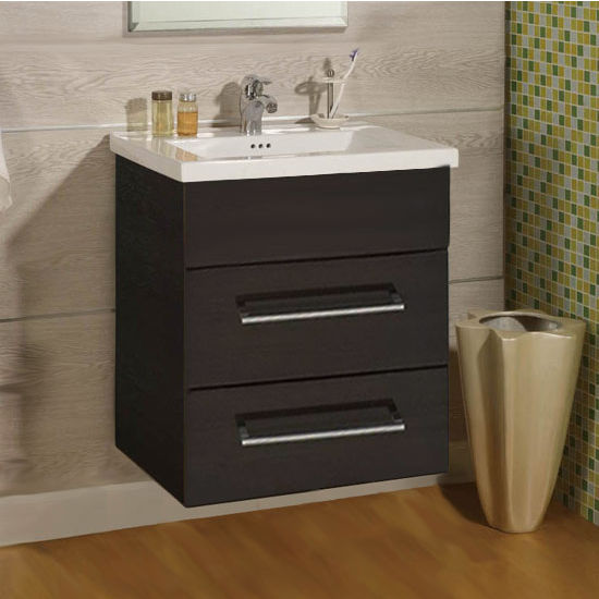 "Empire Wall-Hung Daytona 24"" Vanity with 2 Drawers"