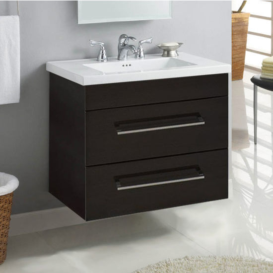 "Empire Wall-Hung Daytona 30"" Vanity with 2 Drawers"