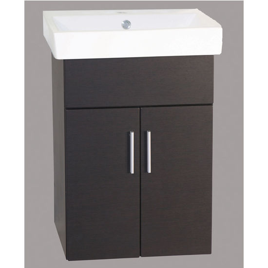 "21"" W Daytona Wall-Hung Vanities with 2 Doors by Empire"