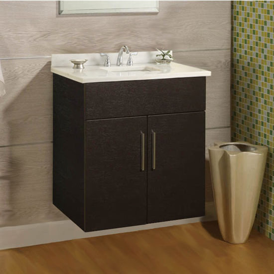 "Empire Wall-Hung Daytona 24"" Vanity for 2522 Stone Countertops with 2 Doors"