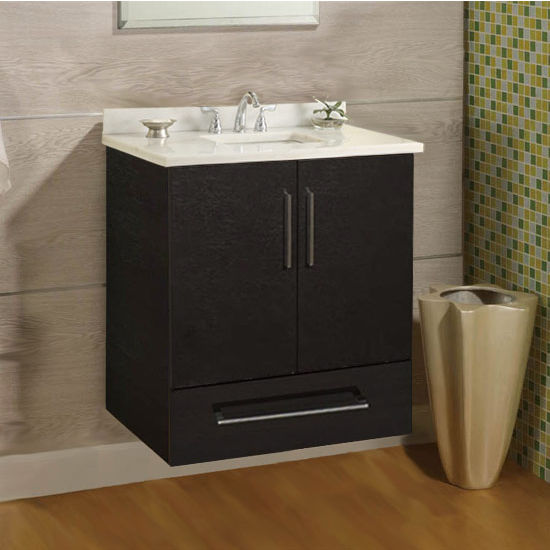 "Empire Wall-Hung Daytona 24"" Vanity for 2522 Stone Countertops with 2 Doors & 1 Drawer"