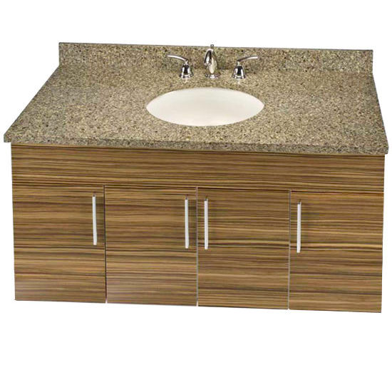 "Empire Wall-Hung Daytona 48"" Vanity for 4922 Single Bowl Stone Countertops with 4 Doors"
