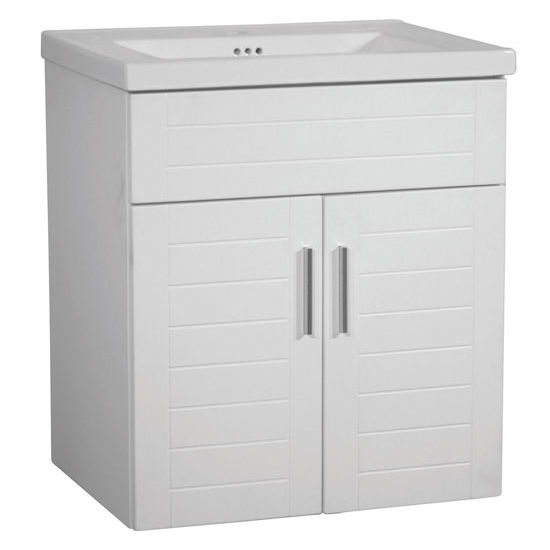 "Empire Wall-Hung Metropolitan 24"" Vanity with 2 Doors"