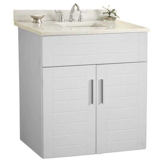 "Empire Wall-Hung Metropolitan 24"" Vanity for 2522 Stone Countertops with 2 Doors"