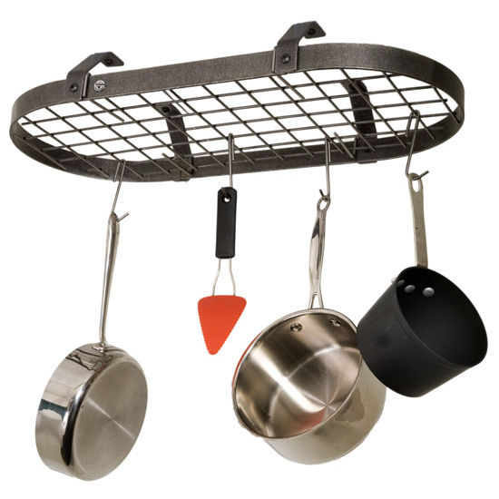 Low Ceiling Oval Pot Rack PR4LC Series