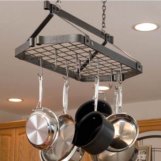 Retro Rectangle Pot Racks with Grid DR5 Series