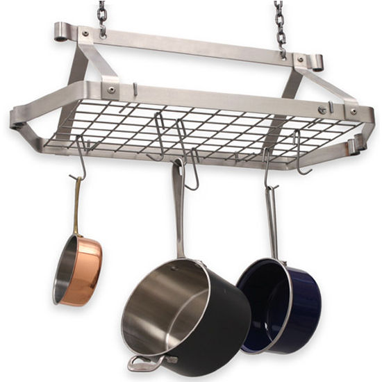 Retro Rectangular Stainless Steel Pot Rack DR5 Series