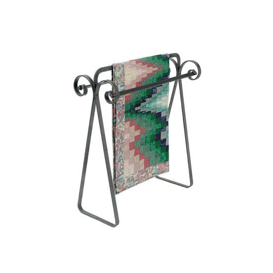 Stylish Scroll Quilt Rack