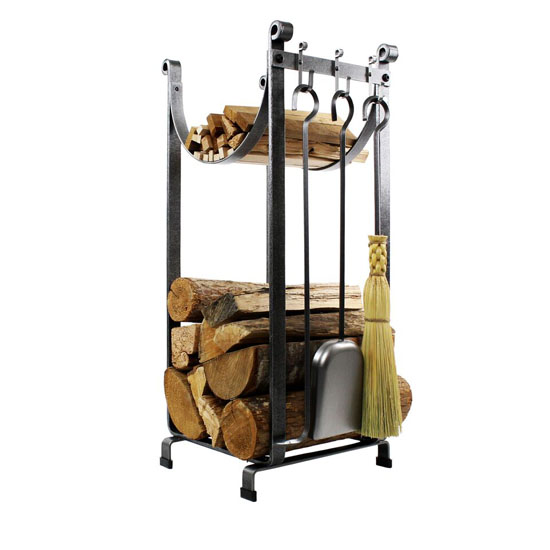 Sling Rack With Bar and Tools