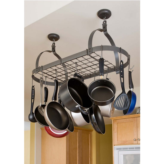 Oval Pot Rack w/Grid MPO-01 Series