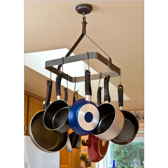 Square Pot Rack with Grid MPS-03 Series