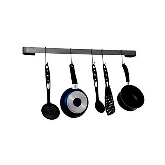 Enclume Wall Mount Long Utensil Bar Pot Rack