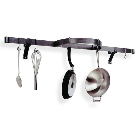 Wall Mounted Shelf Pot Rack with Half Circle PR10 Series