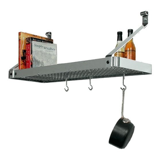 Bookshelf Pot Racks PR8A & PR8B Series