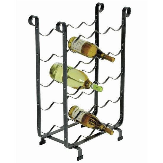 Wine Racks Enclume 12 Or 20 Bottle Rack In Hammered