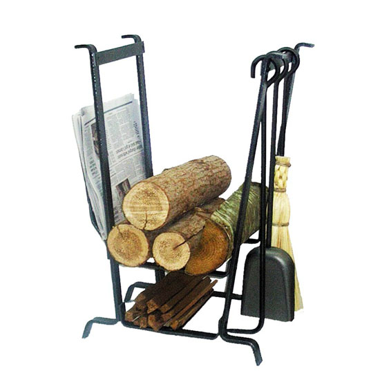 Complete Hearth Rack with Tools