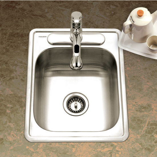 Houzer - Topmount Single Bowl Sink