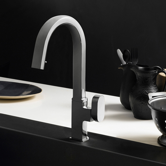 Brushed Nickel Azura Pull Down Faucet