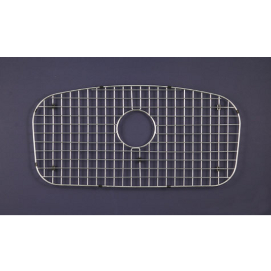 "Houzer WireCraft bottom grid, Stainless Steel, 29-1/2""W x 15-1/2""D x 5/8""H, fits MB-3300 sink"