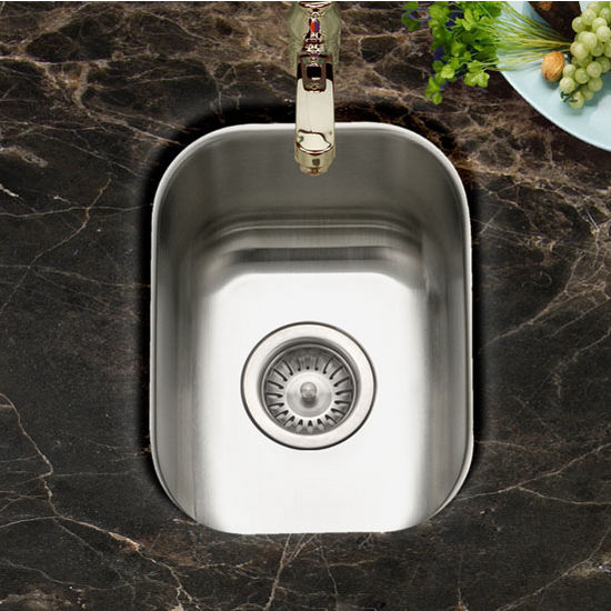 Houzer Club Series Undermount Small Bar/Prep Sink