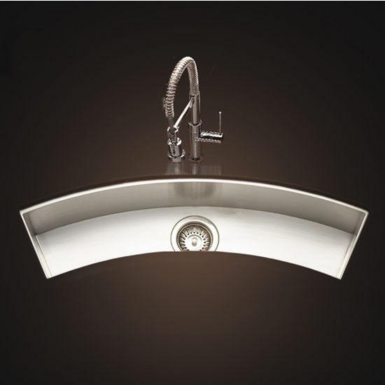 "Houzer - Undermount Sink, 33"" W x 8 1/2"" D x 6"" H"