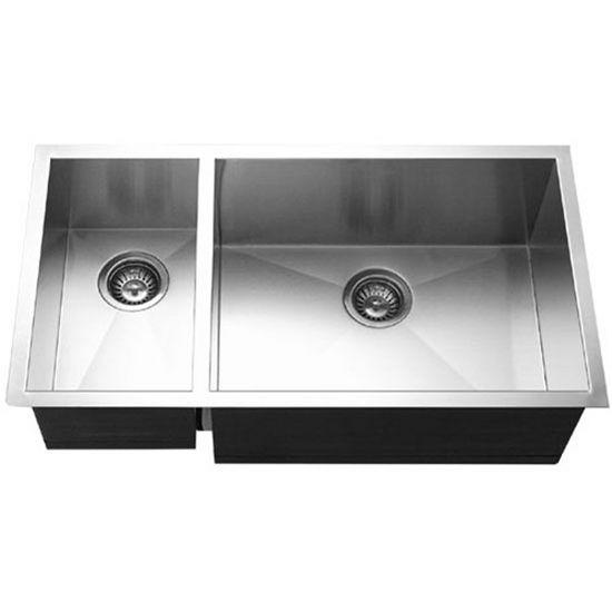 Kitchen Sinks Contempo Stainless Steel Zero Radius 70 30
